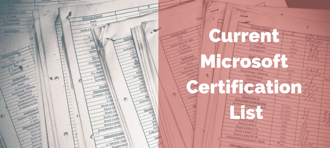 Microsoft certification changes: what you need to know