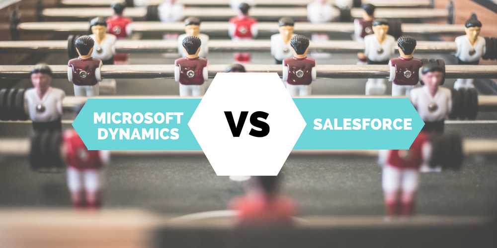 Head to head: Microsoft Dynamics vs Salesforce