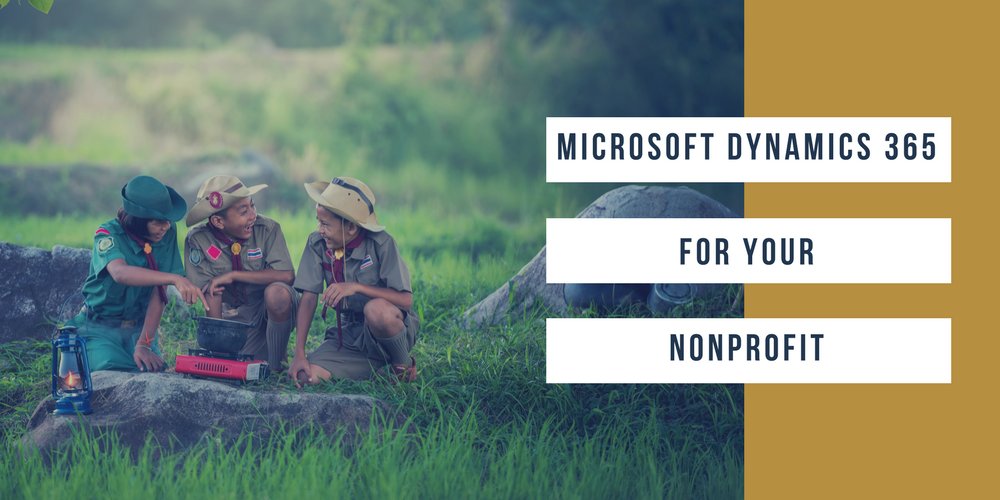 Microsoft Dynamics 365 for your nonprofit