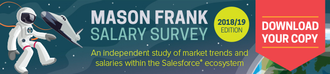 Mason Frank independent Salesforce Salary Survey