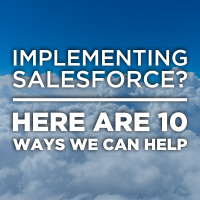 10 ways we can help with your Salesforce implementation
