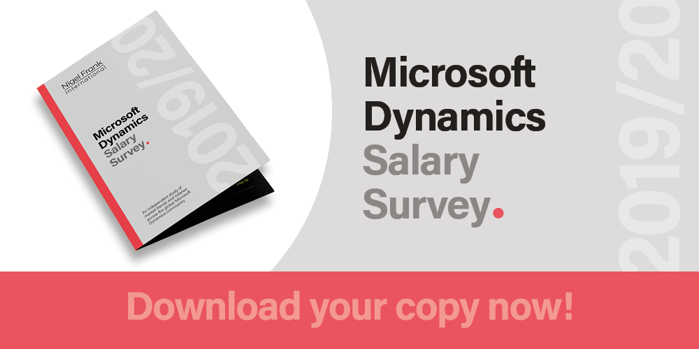 Microsoft Dynamics Salary Survey | Nigel Frank