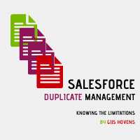 Knowing the limitations of Salesforce Duplicate Management