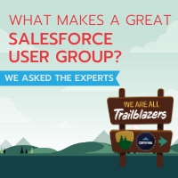 What makes a great Salesforce user group? We asked the experts